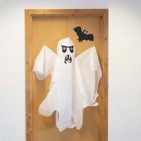 Kummitus kangasjäljitelmästä