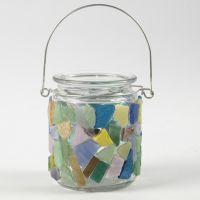 Mosaiikki lasilla