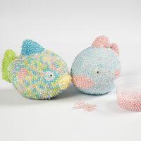 Pearl Clay:lla koristeltu kala