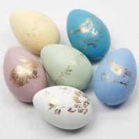 Koristefoliolla koristellut pääsiäismunat