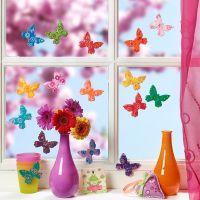 Värikkäät perhoset Fimo-massasta