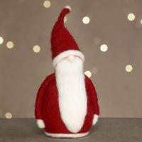 Neulahuovutettu joulupukki