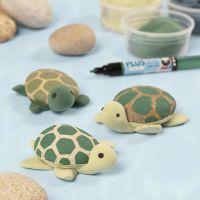 Kilpikonnat kivistä ja Silk Clay:sta