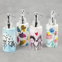 Beautiful soap dispensers with designs and prints