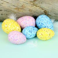 Värikkäät Terrazzo-munat